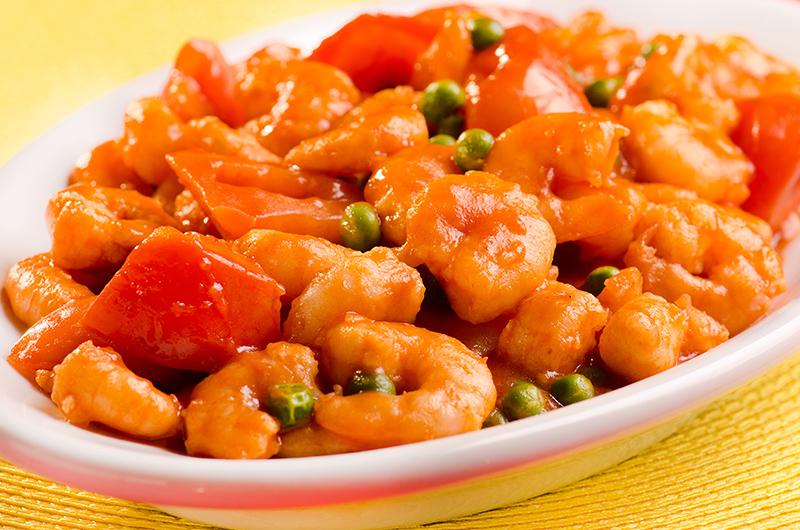 Camarão ao Molho de Tomate
