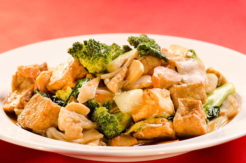 Tofu com Legumes